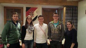 unser Besuch auf dem Haus der Burschenschaft Kurmark Brandenburg